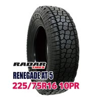 サマータイヤ ■Radar RENEGADE AT-5 225/75R16 10PR 115/112...