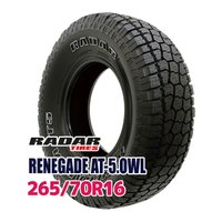 サマータイヤ ■Radar RENEGADE AT-5.OWL 265/70R16 112H:外径:...