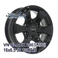 ■KIRCHEIS VN 16x6.5 +38 139.7x6 BLACK:インチサイズ:16インチ...