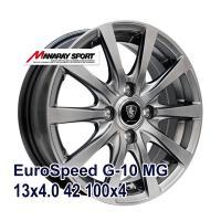 ■MANARAY SPORT EuroSpeed G-10 13x4.0 +42 100x4 MG:...