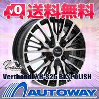 ■Verthandi YH-S25 15x5.5 +43 100x4 BK/POLISH:インチサイ...