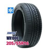 スタッドレスタイヤ ■ZEETEX WH1000スタッドレス 205/55R16 91H:外径:63...