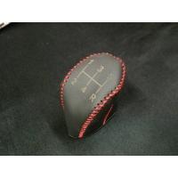 本革シフトノブカバー MT 赤ステッチ HA36S アルトターボRS & アルトワークス