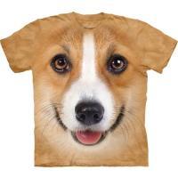 S-Lサイズ The Mountain Corgi メンズ イヌ コーギー メーカー直輸入品 Tシャツ