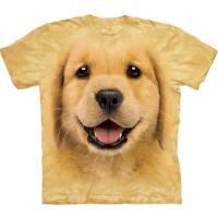 S-Lサイズ The Mountain Golden Retriever Puppy メンズ イヌ レトリバー メーカー直輸入品 Tシャツ