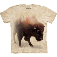 S-Lサイズ The Mountain Bison Forest メンズ バイソン メーカー直輸入品 Tシャツ