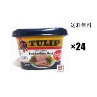 チューリップポーク エコパック340g うす塩味 ×24缶セット(1ケース) 送料無料  片づけ便利...