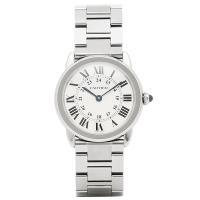 カルティエ 時計 CARTIER W6701004 ロンドソロ SS レディース腕時計ウォッチ シル...