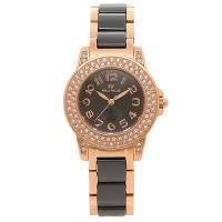 フォリフォリ 時計 FOLLI FOLLIE 腕時計 レディース WF9B020BPK ブラック/ピ...