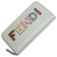 フェンディ 長財布 レディース FENDI 8M0299 A13J F10XP グレー