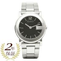 GUCCI グッチ Gラウンド ブラック/シルバー メンズ/ボーイズ 腕時計 YA101405 ウォ...