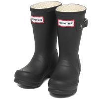 ハンター ブーツ キッズ HUNTER W23500 BLK ORIGINAL KIDS レインブー...