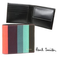 ポールスミス 財布 PAUL SMITH 4833 W785 1 COIN WALLET メンズ 二...