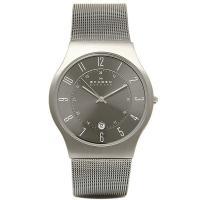 スカーゲン 時計 メンズ SKAGEN 233XLTTM TITANIUM DATE チタン 腕時計...