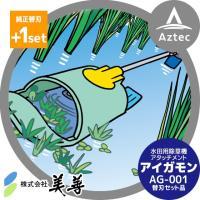 【美善】<替刃1組付き>水田用除草機アタッチメント「アイガモン」AG-001