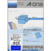 ■PPC(コピー)ラベルの特長   ○耐熱樹脂コーティング済のラベルです。   ○ラベルがコピー機に...