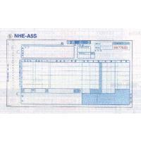 トッパンフォームズ 家電統一伝票E様式 ( 手書用 ) NHE-A5S 100組x10冊|azumaya