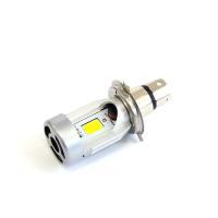 バイク用 LEDヘッドライトH4 Hi/Lo  手のひらサイズのコンパクト設計ながら、2000 lm...