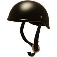 【塗装不良】B&B 装飾用ダックテールヘルメット マットブラック BB704 アウトレット品