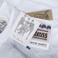 Worn By ウォーンバイ ビートルズ TEE Beatles 4 Garcons T-Shirt   ホワイト
