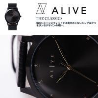 飽きのこないシンプルかつモダンなデザインの時計。都会的でストリートからフォーマルまで幅広いシーンにフ...