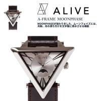 世界唯一の正三角形時計、A-FRAMEに新たなバリエーションとしてA-FRAME MOONPHASE...