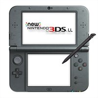 New ニンテンドー3DS LL 本体 メタリックブラック ・3Dで広がるゲーム体験。上画面は、専用...