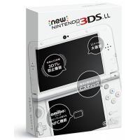 New ニンテンドー3DS LL 本体 パールホワイト ・3Dで広がるゲーム体験。上画面は、専用のメ...