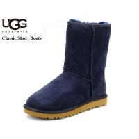 UGG(アグ)クラシックーショート ブーツ  ■カラー(カラーNo.):ネイビー  ■素材(素材No...