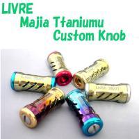 LIVRE/リブレ  MagiaTitaniumuKnob/マージアチタニウムノブ シャンパンゴール...