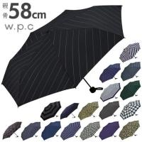 ワールドパーティ W.P.C 折りたたみ傘 軽量 メンズ 晴雨 傘 折り畳み傘 おりたたみ 折り畳み...
