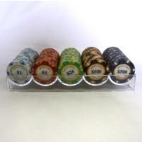 人気のモンテカルロポーカーチップ10種、オールスターと揃えた100枚セットです。  --------...