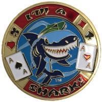 商品詳細 商品名:カードプロテクター・カードスピナー「I'm A Shark」 −ポーカー用カードプ...