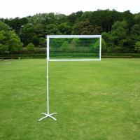 練習用の折り畳み式簡易バドミントンネット(ポータブルバドミントンネット)です。 ネットの高さを、正規...