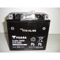 台湾 ユアサ YUASA YTX14L-BS 互換 65958-04 65984-00 XL1200R XLH883  初期充電済 即使用可能|baikupatuhakase|02