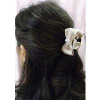 レディース髪飾り バレッタ 格安  ホワイト色系