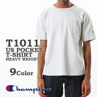 Champion チャンピオン メンズ レディース ポケット付き Tシャツ T1011 US T-S...