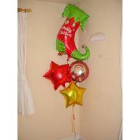 ククリスマスプレゼント 子ども リスマスバルーン クリスマスギフト バルーンギフト  赤いブーツの中のプレゼントは何かな