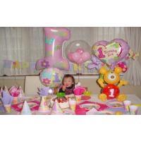 1歳の誕生日ならおまかせ 1歳の誕生日会を盛り上げる豪華8点セットです 中身はコチラ ビブ ペーパー...