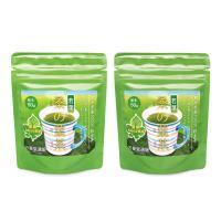 桑の葉の頭頂から30cmまでの若葉だけを使用した桑の葉茶です。桑の葉茶には糖分を抑える効能DNJが含...