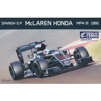 McLAREN HONDA MP4-31 2016 SPANISH GP【EBBRO 1/20】