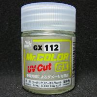 Mr.カラーGX スーパークリアーIII UVカット 光沢【GSIクレオス GX112】