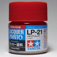 LP-21 イタリアンレッド【タミヤカラー ラッカー塗料】