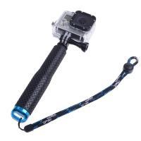 19cm-49cmまで伸縮自在な自撮り棒(セルフィースティック)です。カラーはブルーとレッドの2色の...