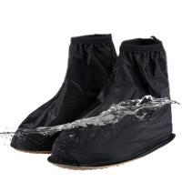 雨の日や雪の日など靴の上から履いて、水や泥汚れから靴を守るシューズカバーです。靴を脱がずに脱着できる...