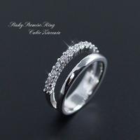ピンキーリング レディース 指輪 小指 3号 5号 7号 ピンキー リング 可愛い 2号 4号 6号 ピンキー リング かわいい キラキラ アクセサリー 銀色