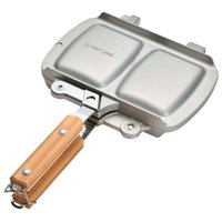 スノーピーク snowpeak ホットサンドクッカー トラメジーノ/キャンプ アウトドア調理器具