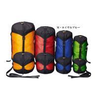 寝袋やダウンジャケットなどのかさばりがちな装備を大幅に圧縮することが可能なコンプレッションバッグです...