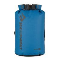 軽量で強度に優れる防水サック。 筒型形状で荷物が詰め込みやすくなっています。