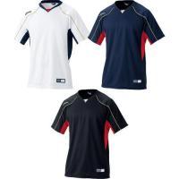 2013年新モデル!吸汗速乾性に優れたプラクティスシャツ。●ベースボールTシャツ●メーカー名:アシッ...